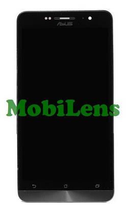 Asus A600CG, ZenFone 6 T00G, A601CG Дисплей+тачскрин(сенсор) в рамке черный, фото 2