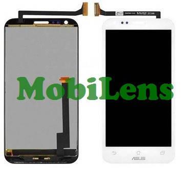 Asus PadFone 2, T008, PadFone E, (A68) Дисплей+тачскрин(сенсор) белый, для смартфона, фото 2
