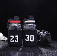 Спортивная бутылка NBA 650мл. стеклянная