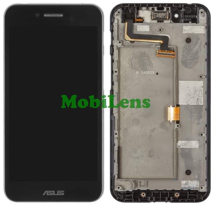 Asus PF500KL, PadFone S Дисплей+тачскрин(сенсор) черный в рамке