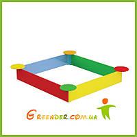 """Песочницы для детей """"Кульбаба"""" цветные, фото 1"""