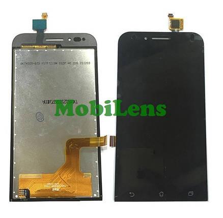 Asus ZC451TG, ZenFone Go Дисплей+тачскрин(сенсор) черный, фото 2