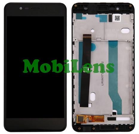 """Asus ZC520KL, ZenFone 4 Max 5.2"""" Дисплей+тачскрин(модуль) черный *в рамке"""