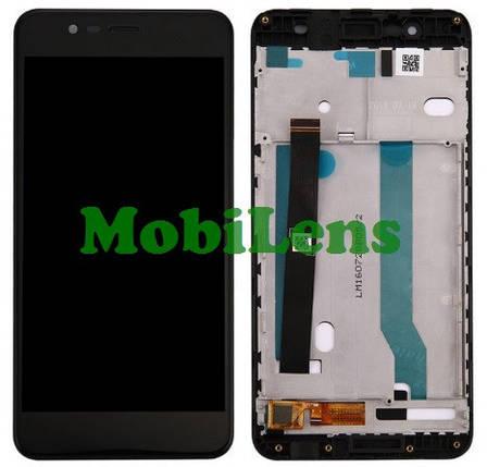 """Asus ZC520KL, ZenFone 4 Max 5.2"""" Дисплей+тачскрин(модуль) черный *в рамке, фото 2"""