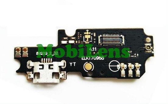 Asus ZC553KL, X00DD, Zenfone 3 Max Шлейф с разъемом зарядки и микрофоном