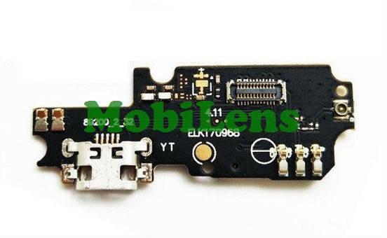 Asus ZC553KL, X00DD, Zenfone 3 Max Шлейф с разъемом зарядки и микрофоном, фото 2