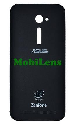 Asus ZE500CL, ZenFone 2, Z00D Задняя крышка черная, фото 2