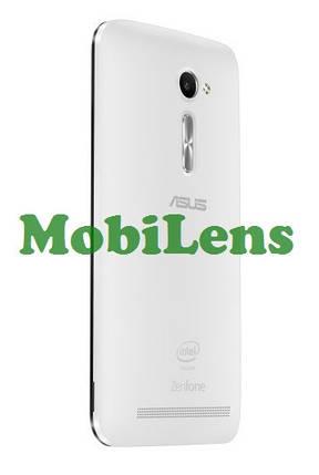 Asus ZE500CL, ZenFone 2, Z00D Задняя крышка белая, фото 2