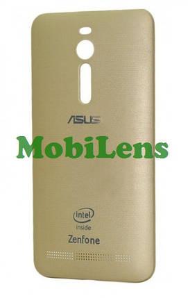 Asus ZE550ML, ZenFone 2, ZE551ML, Z008D Задняя крышка золотистая, фото 2