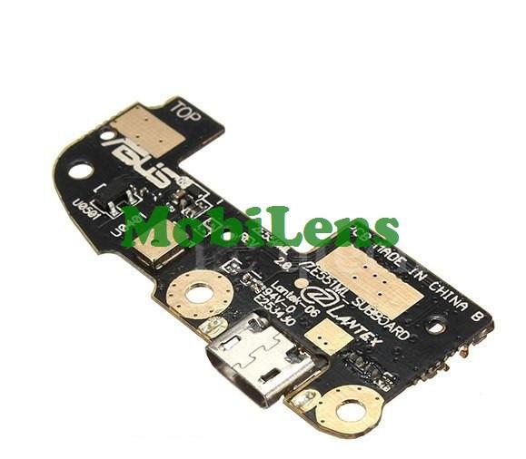 Asus ZE550ML, ZE551ML, ZenFone 2, Z008D Шлейф с разъемом зарядки и микрофоном
