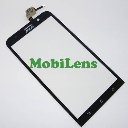 Asus ZE551ML, ZenFone 2, Z00AD, Z00ADB Тачскрин (сенсор) черный, фото 2
