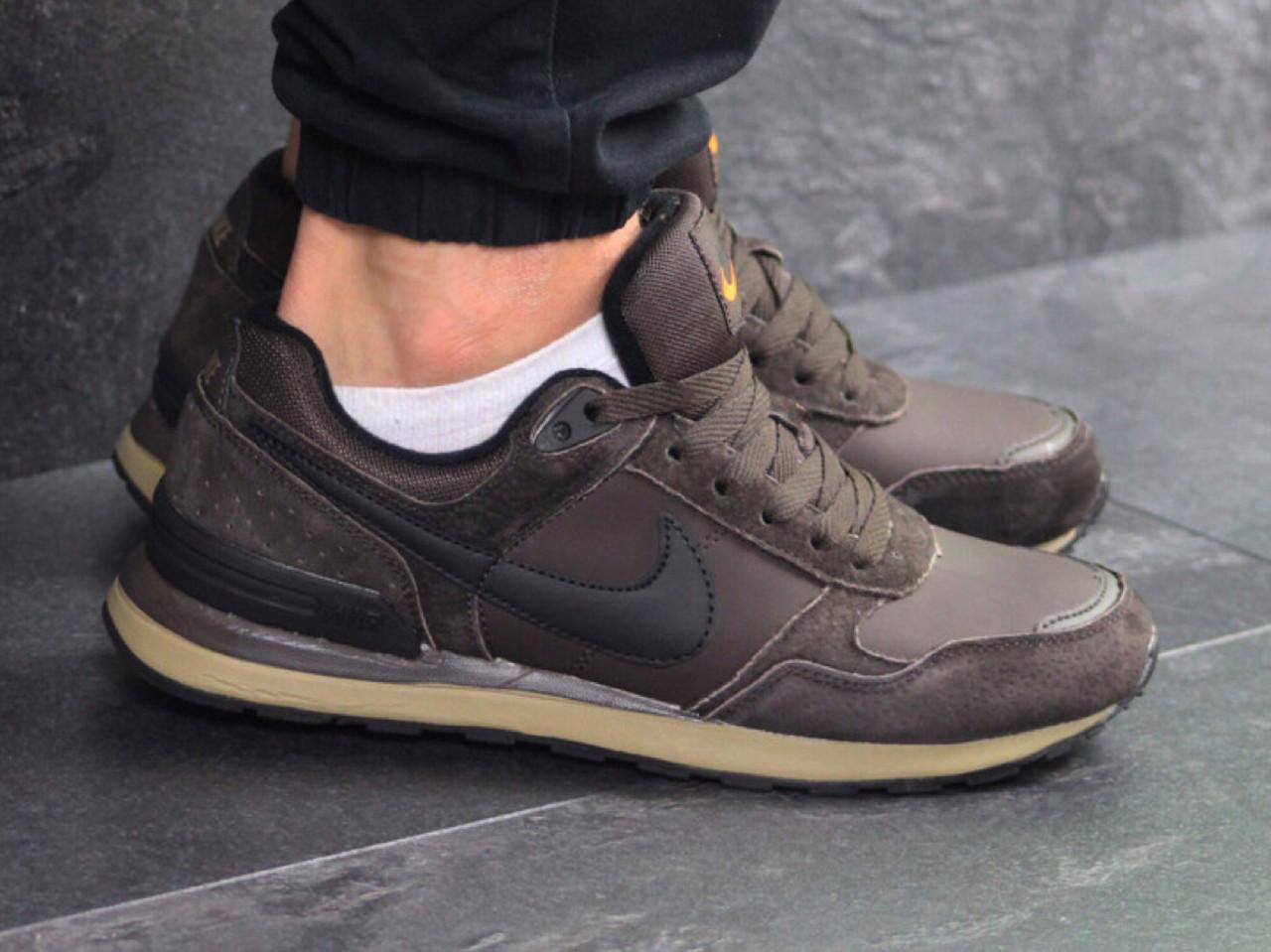 12918c35 Беговые кроссовки 7440 Nike для мужчин коричневый цвет купить -  Интернет-магазин