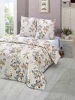 Трикотажное постельное бельё с простыней на резинке KARNA ROSENS  евро