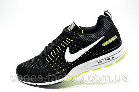 Беговые кроссовки в стиле Nike Air Zoom Shield  2019, Black\White, фото 2