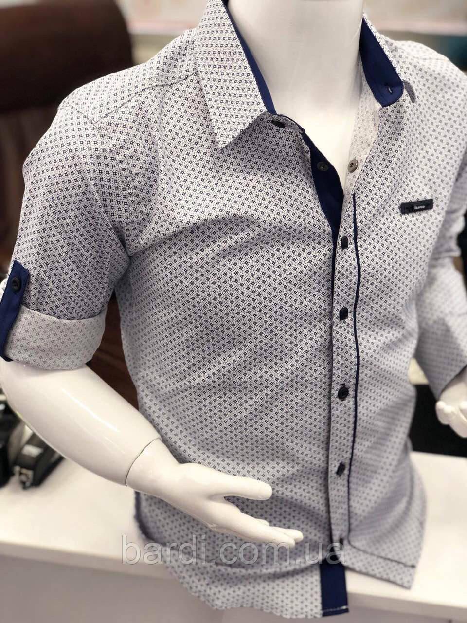 Рубашка для мальчика 2-7( цветные)