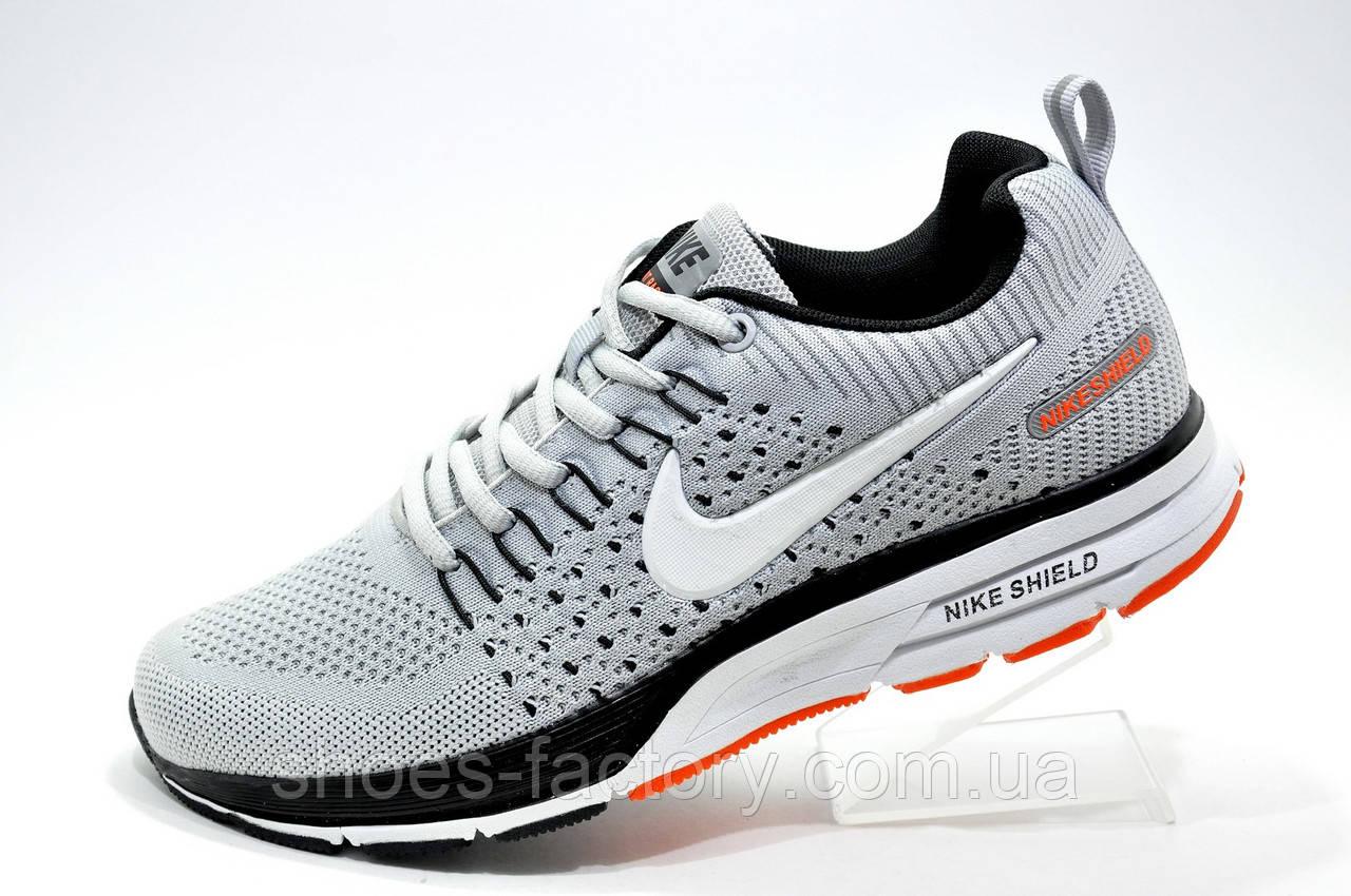 cb674587 Беговые кроссовки в стиле Nike Air Zoom Shield 2019, Gray - Интернет  магазин спортивной обуви