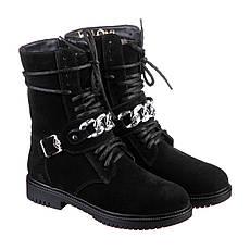 VM-Villomi Стильные замшевые ботинки с ремешком