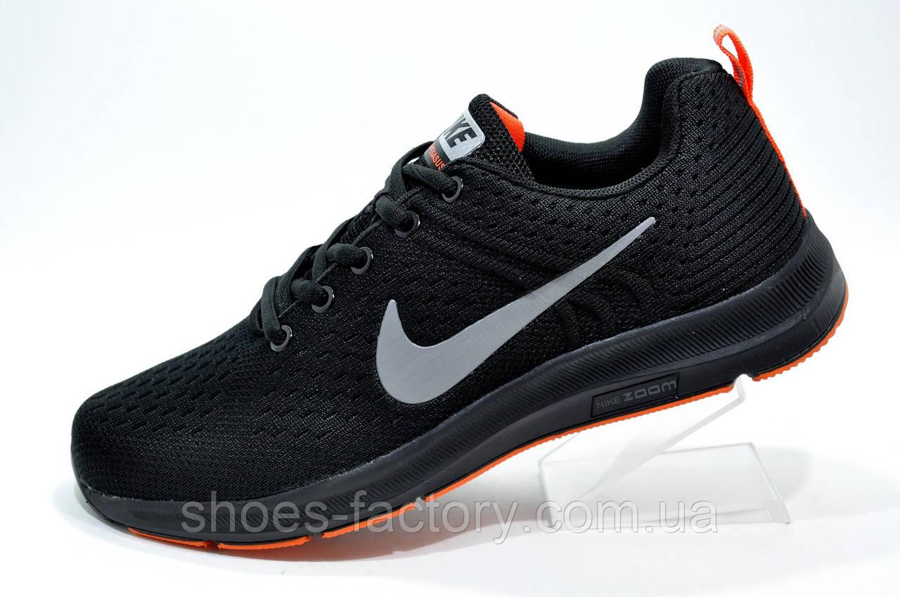 0a7f473c Беговые кроссовки в стиле Nike Air Zoom Pegasus, Black - Интернет магазин  спортивной обуви Shoes