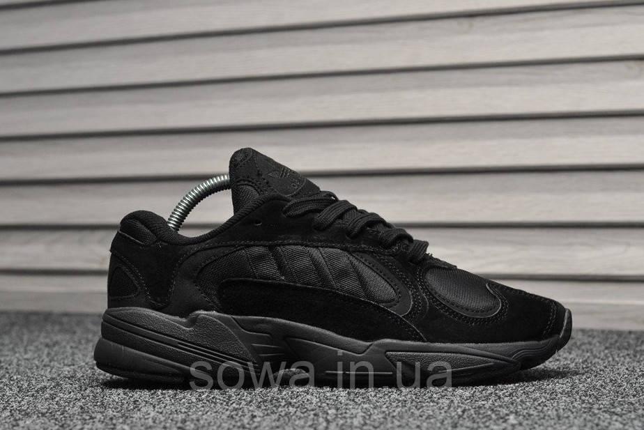 "✔️ Кроссовки Adidas YUNG-1 ""Black"""