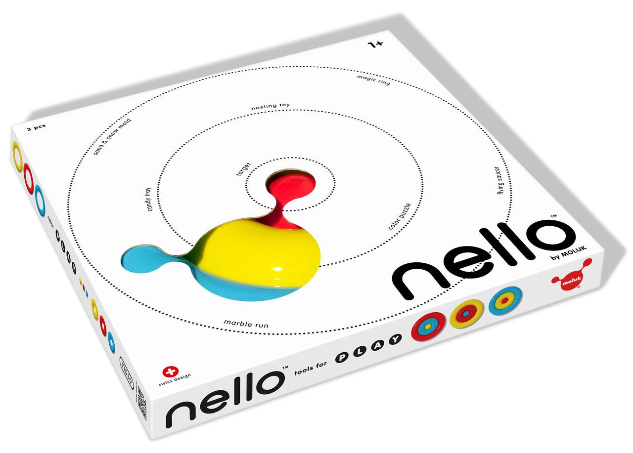 Игрушка Нелло 1+ (3шт, асс.) MOLUK