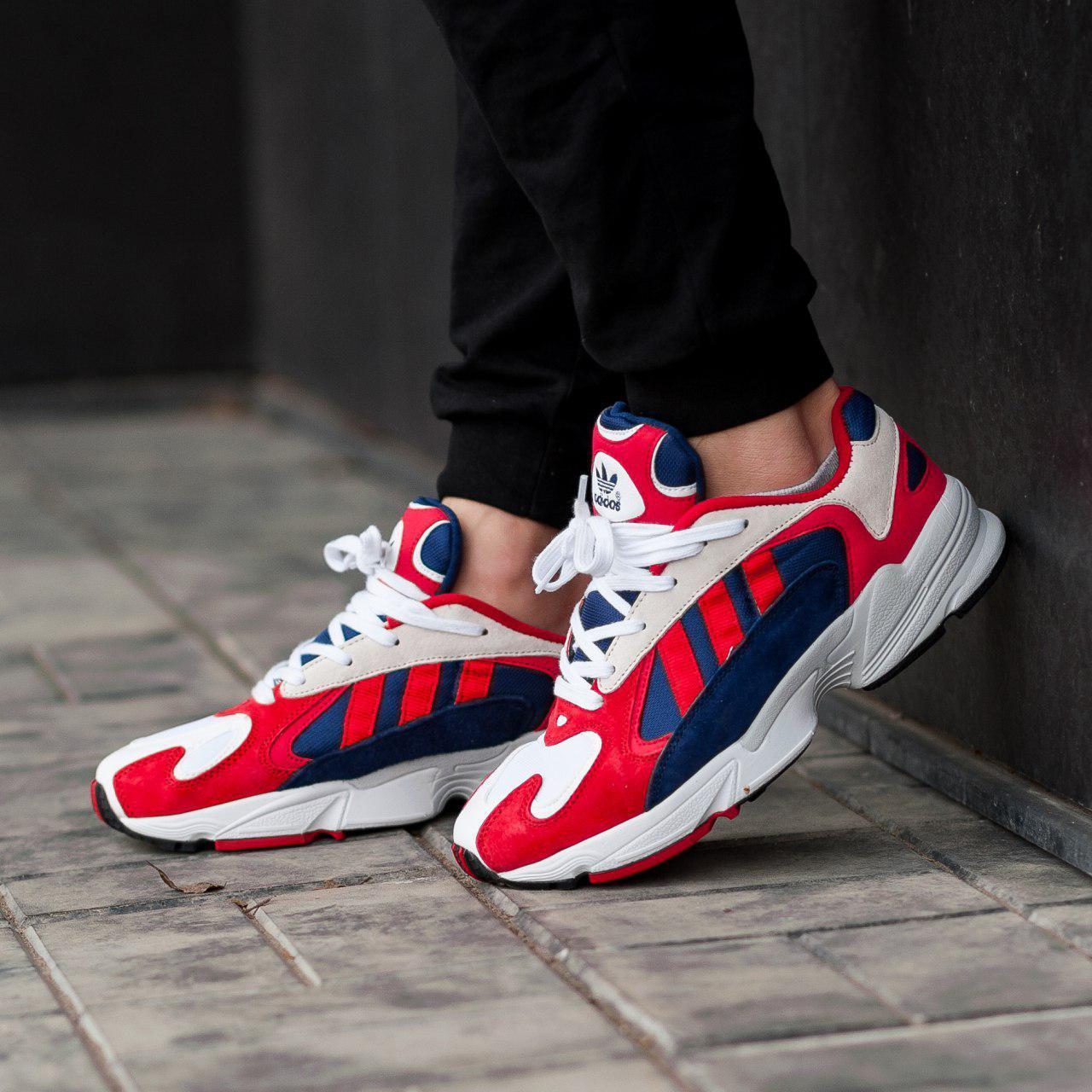 bb043c41 Мужские кроссовки adidas в стиле Yung 1 Red (Реплика ААА+) - Магазин  брендовой