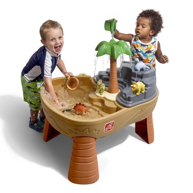 Водный стол и песочница Парк динозавров Step2 8745