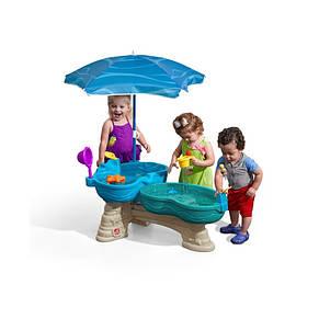 Водный стол с зонтом Laguna Step2 8645, фото 2