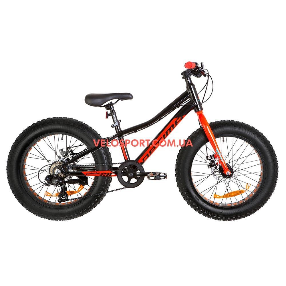 Детский велосипед Optimabikes Paladin 20 дюймов черно-красный