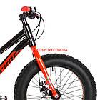 Детский велосипед Optimabikes Paladin 20 дюймов черно-красный, фото 2
