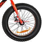 Детский велосипед Optimabikes Paladin 20 дюймов черно-красный, фото 3