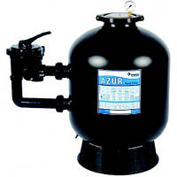 Фильтровальная емкость AZUR,AZUR 660 мм, 16,5 м3/ч 6-ходовой боковой клапан, 255 кг песка