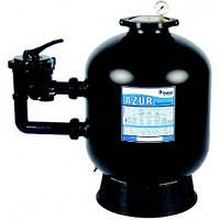 Фильтровальная емкость AZUR,AZUR 660 мм, 16,5 м3/ч 6-ходовой боковой клапан, 255 кг песка, фото 1