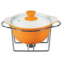 Мармит Maestro круглый 22.5 см Orange (MR-10959-72)