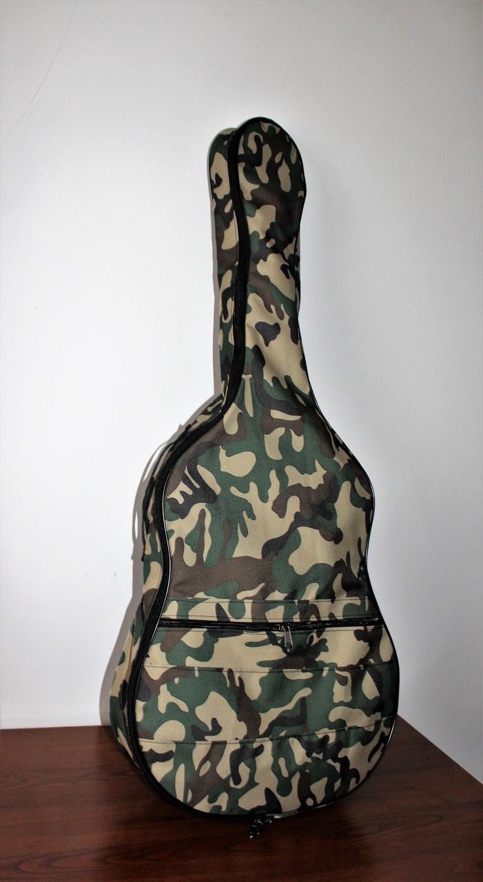 Надежный чехол для акустической гитары Muzwear khaki 02