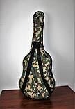 Надежный чехол для акустической гитары Muzwear khaki 02, фото 4
