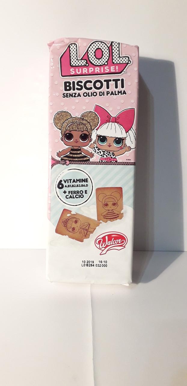 детское печенье Lol Surprise без пальмового масла италия 200г
