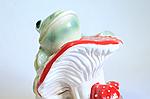 Садовая фигура жаба на грибе., фото 2