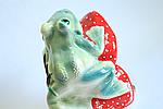 Садовая фигура жаба на грибе., фото 3
