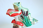 Садовая фигура жаба на грибе., фото 5