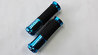 Ручки руля с алюм. отбойником (синие) (mod:Honda) GJCT