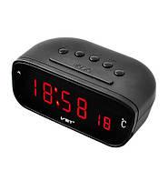 Автомобильные часы- термометр- вольтметр PTVS 803C-1 прикурка-батарейка
