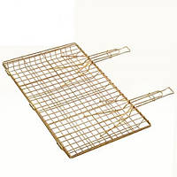 Решетка для гриля двойная ручка Firex Профи 55 х 60 х 35 см (MH-0912)