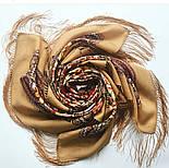 Родниковый край 1835-1, павлопосадский платок шерстяной с шелковой бахромой, фото 4