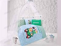 """Комплект постельного белья  """"Aran Clasy"""" Jorney для новорожденных (в кроватку)"""