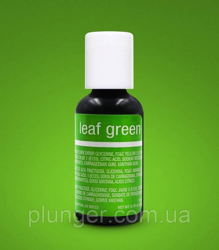 Барвник харчовий гелевий Chefmaster Leaf green / Зелений лист