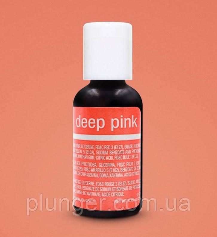 Барвник харчовий гелевий Chefmaster Deep pink / Темний рожевий
