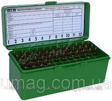 Кейс MTM для патронов 243, 308win. на 60 шт, зеленый