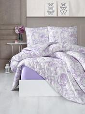Трикотажное постельное белье с простыней на резинке KARNA- Новинка!!!