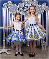 "Красивое детское платье ""Жар птица"", фото 1"