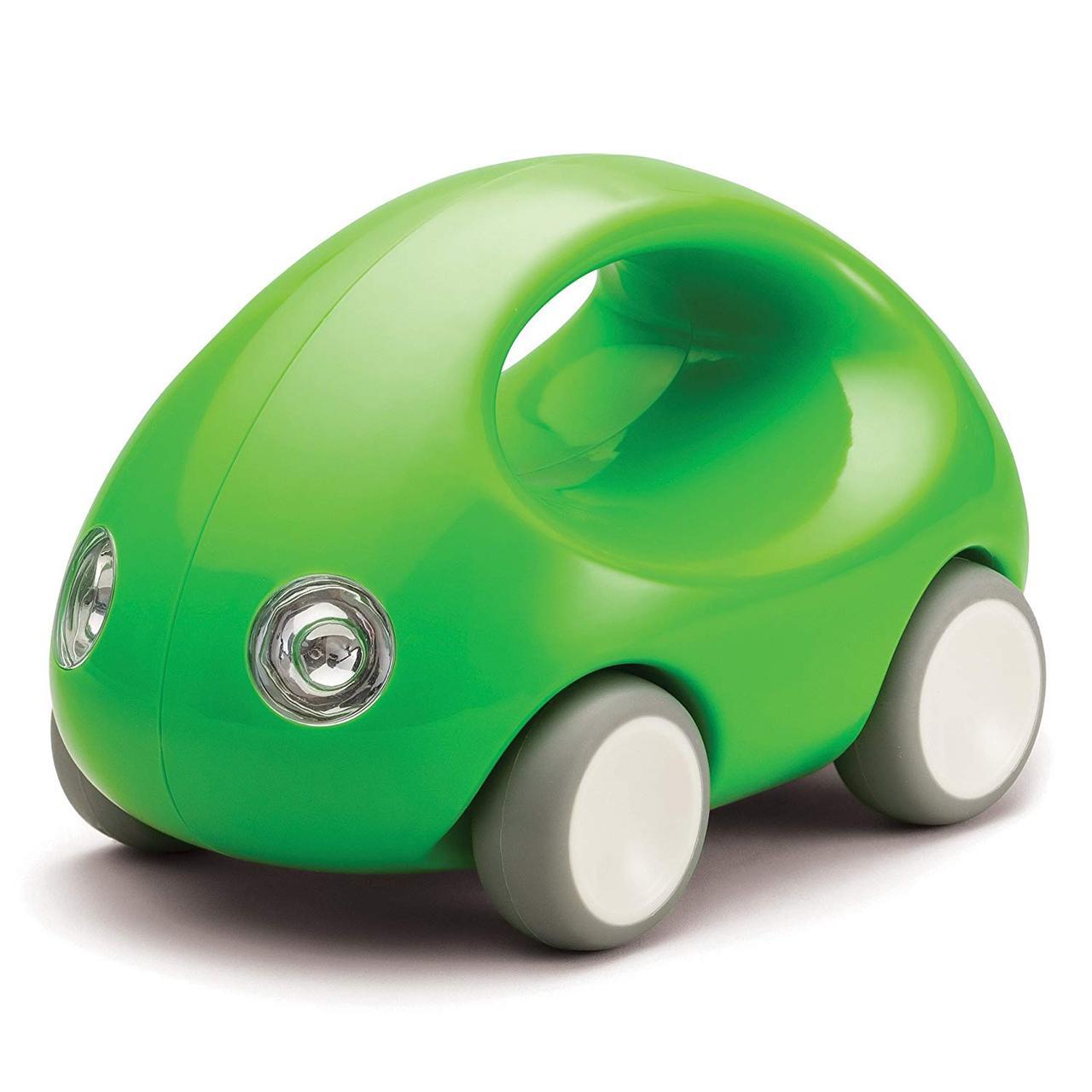 Первый автомобиль. Стильная машинка с ручкой (зеленая) (Kid O 10340)